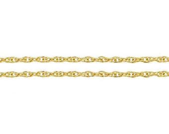 Chain, Rope, 14Kt Gold Filled, 1.2mm - 100ft Wholesale Price (11584-100)/1
