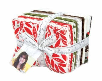 Merrily Fat Quarter Bundle with Panels 48210AB by Gingiber for Moda