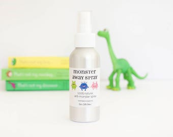 Monster Spray - Children's Sleep Aid, Aromatherapy Room Mist, Anti-Monster Spray, Natural Sleep Spray, Gift for Kids, Vegan