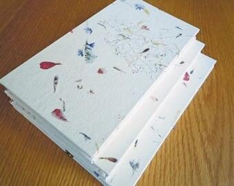 "Petal Paper BFK Accordion Fold 8"" Alternative Guest Book Photo Album Sketchbook in Three Sizes"