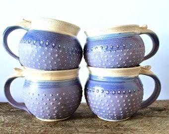 Handmade Pottery Pasta Bowl / Salad Bowl, Black and Mocha Cream ...READY TO SHIP