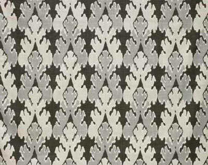 Designer Pillow Cover - KW Groundwork Lee Jofa Bengal Bazaar Graphite