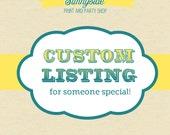 Custom listing for cwalker21