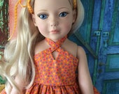"""RESERVED American Made Girl Doll Clothing For 18 Inch Dolls Will Fit Robert Tonner's """"My Imagination™"""""""