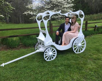 Full Size Cinderella Carriage, with Canopy