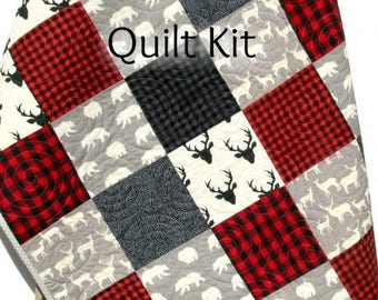 Quilt Kit Marmalade Baby Patchwork Girl Crib Diy Do It