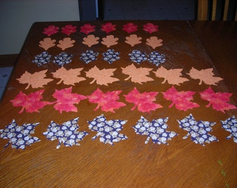 Die Cut Fall Leaves