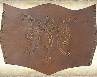 Leather Underburt Corset