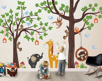 Kids Wall decal : Make a Playroom with our ORIGINAL PLAYROOM - Nursery Wall Decal