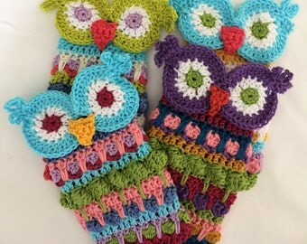 Morocco Owl Eyeglasses Case Crochet Pattern PDF Instant Download Part Pixy Patterns Christmas Holiday