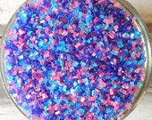 Sprinkles, 3 oz - Purple, Pink, and Blue Shiny Sugar Crystals Mix - For Cupcakes - Cake Pops - Cookies - Pretzels - Abby Cadabby - Cakes