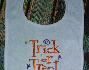 Trick or Treat Bib
