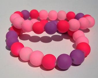 Puffy Bead Bracelet