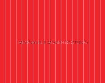 PRINTABLE INVITATIONS Carnival Invitation - Red Stripes Background - Memorable Moments Studio