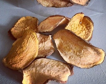 Organic Sweet Potato Crisps - All Natural Dog Treat, dehydrated sweet potato - Great for dogs with allergies - Organic, All Natural, Healthy