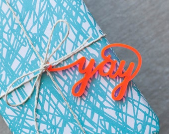 Gift Wrap - add-on from the chatty press