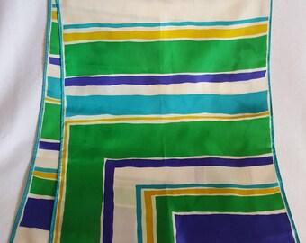 Striped Long Vera Scarf