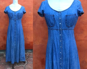 Maxi dress 4t denim