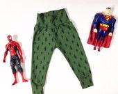Super Hero Lightning Custom Leggings Boy