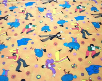 Beatles Fabric Yellow Submarine By The Fat Quarter New BTFQ