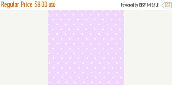 Polka Dot Flannel Fabric/Lavender and White Polka Dot Flannel/Purple Polka Dot Flannel/Baby Flannel/Quilt Flannel/Fabric by the YARD