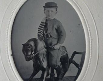 Rocking Horse Tintype