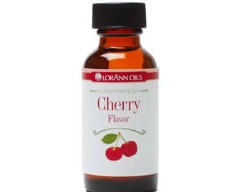 Cherry Flavor LorAnn Hard Candy Flavoring Oil 4 oz