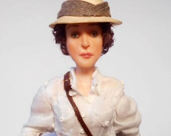 Out of Africa, OOAK character doll