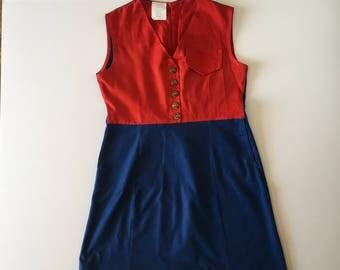 1960's Campfire Girls Dress (10)
