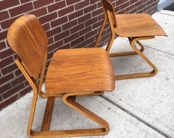 Mid Century Bentwood Chair Attributed to Thonet