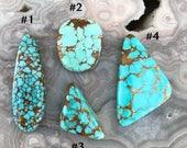 Number 8 Turquoise - Choose Stone - Choose Design
