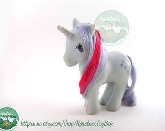 My Little Pony Sparkler Unicorn: Vintage 80s Hasbro Toy TLC