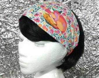 Fabric Headband, Wear narrow or wide - fox, woodland creature