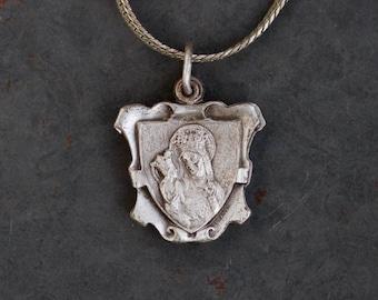 Saint Anne De Beaupré Necklace - Medallion on a Chain