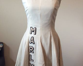 Vintage Handmade Cheerleading Dress sz Small/medium