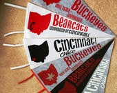 Custom Wool Pennants - your city or college