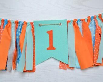 Girl Birthday Banner - Nemo Birthday - girl birthday banner - Finding Nemo Birthday - Nemo party - Finding Dory - Dory Birthday - 1st party