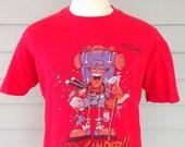 1980's Happy Camper Alaska t-shirt, slim large