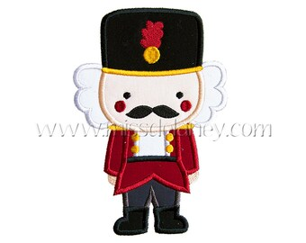 Nutcracker Applique Design