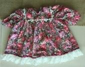 Handmade Floral Baby Girl Dress