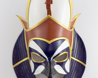 Made To Order: Egyptian God of Pharaohs, Horus Leather Mask