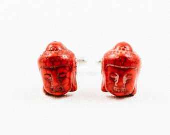 Red Buddha Cufflinks