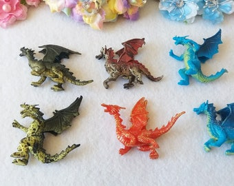 10 Dragons Cupcake topper