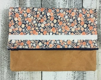 Calico Diaper Clutch