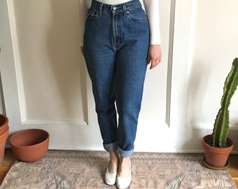 90's Women's Levi's 512 Tapered Leg Jeans - size 27 28