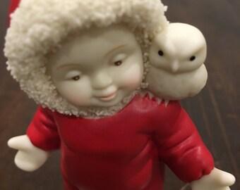 Give a hoot snow babies figurine