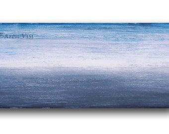 blue abstract Painting art acrylic painting large canvas Oil Textured impasto modern large canvas custom Visi