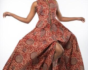 NEW - Maria maxi dress in Burgundy by GITAS Portal