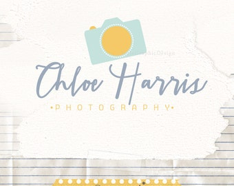 Cute Photography Logo - Photographer Branding - Logo and Watermark  - Camera Logo
