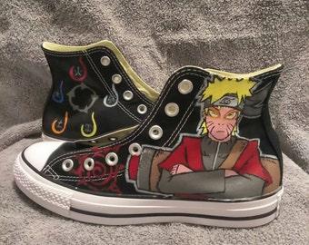 Naruto Sage mode Converse